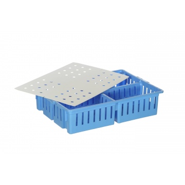 Four Compartment Chick Box Lid