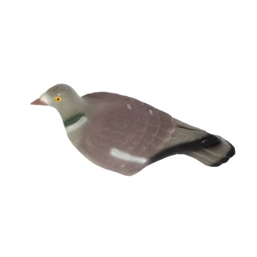 Flock Coated Shell Pigeon